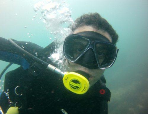 Como funciona um curso de mergulho?